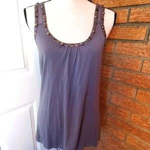 6 zDegrees Sleeveless Top  Size L